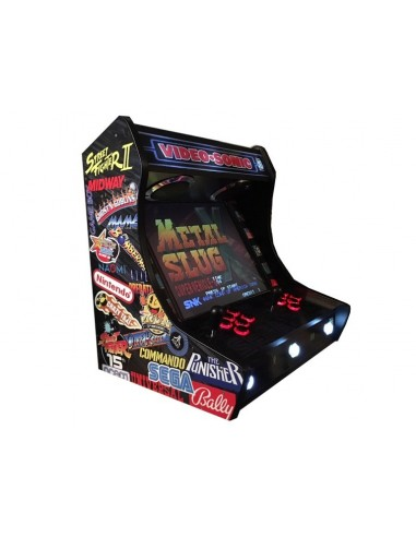 BARTOP ARCADE VIDEOSONIC RECREATIVAS...